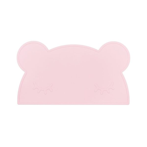 We Might Be Tiny Bear placie – Powder pink