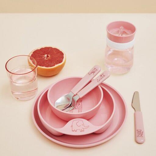 Mepal Kinderschaaltje Mio – deep pink