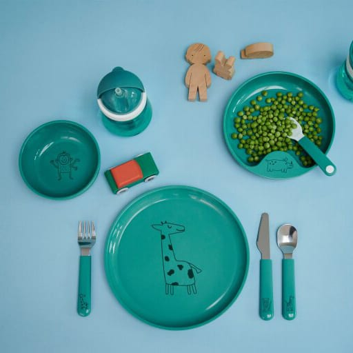 Mepal Kinderschaaltje Mio – deep turquoise