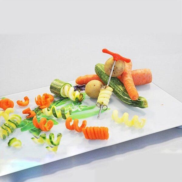 Groente & fruit spiraalsnijder