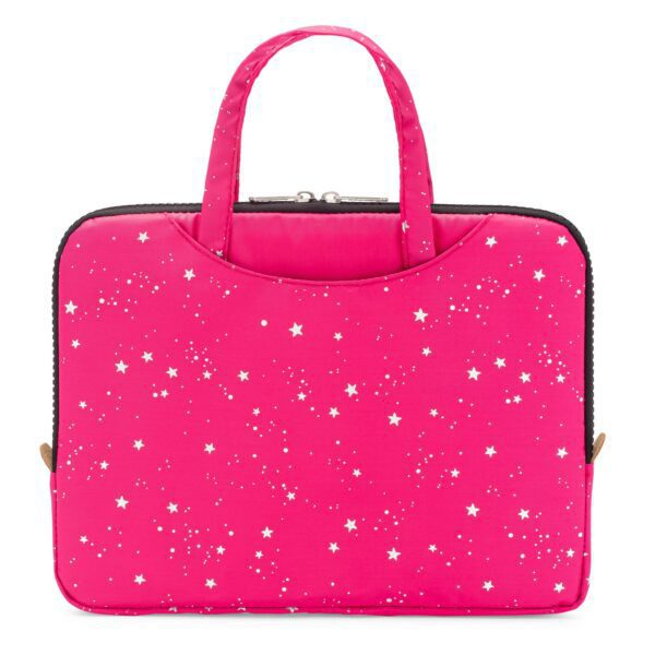 Yumbox Poche – Isolerende hoes met handgrepen – Roze met sterren