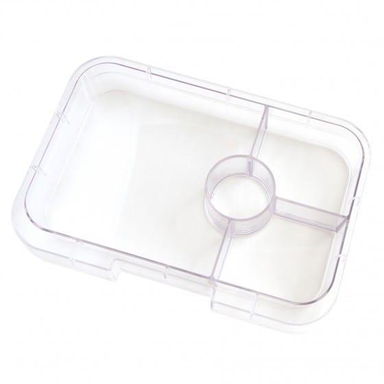 Yumbox Panino 4 vaks tray – Transparant