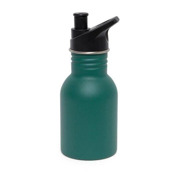 Petit Monkey – Drinkfles RVS Pine green