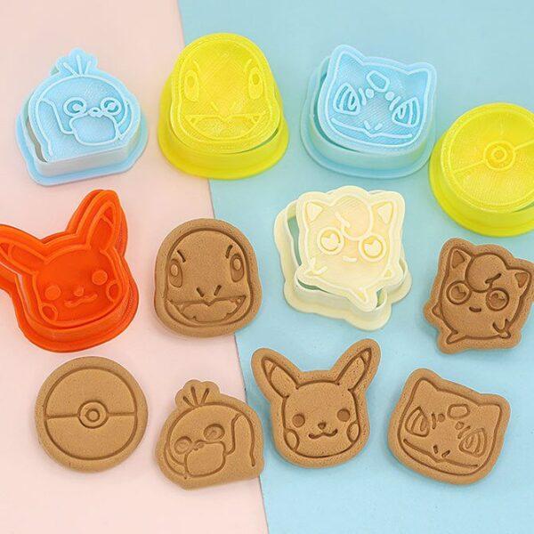 Set koekjesuitstekers Pokemon