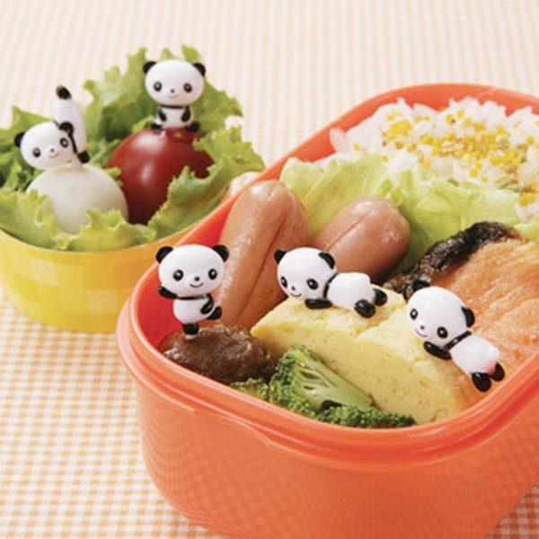 Bento prikkers Panda