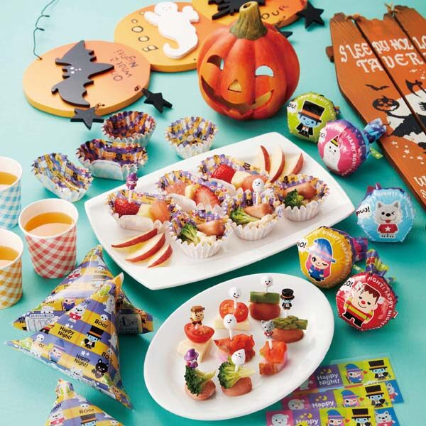 Bento prikkers Haunted Party