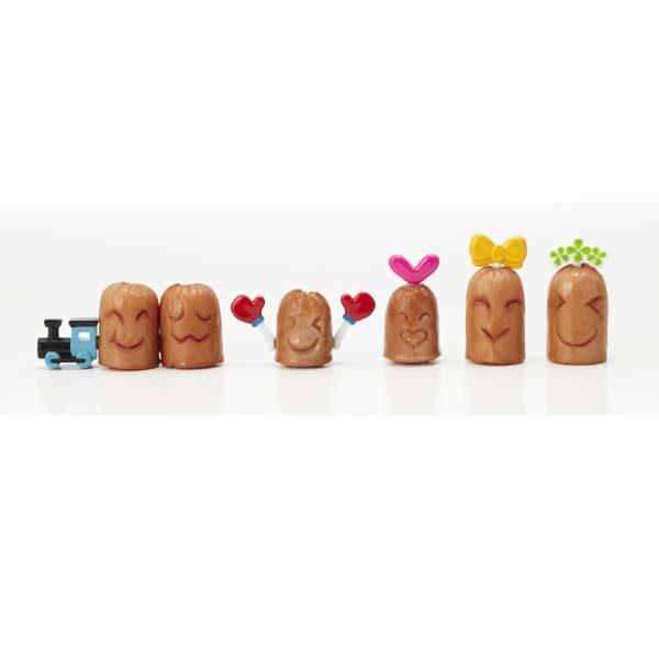 Sausage Emoji maker – set