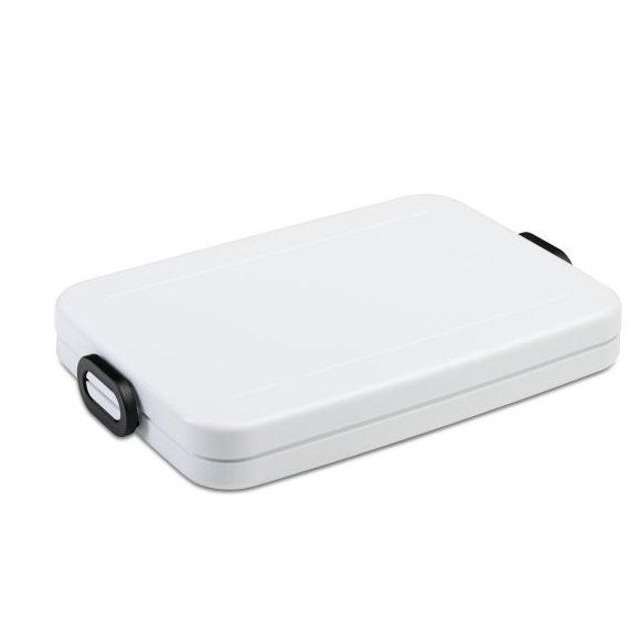 Mepal bento lunchbox Take a Break flat – Wit