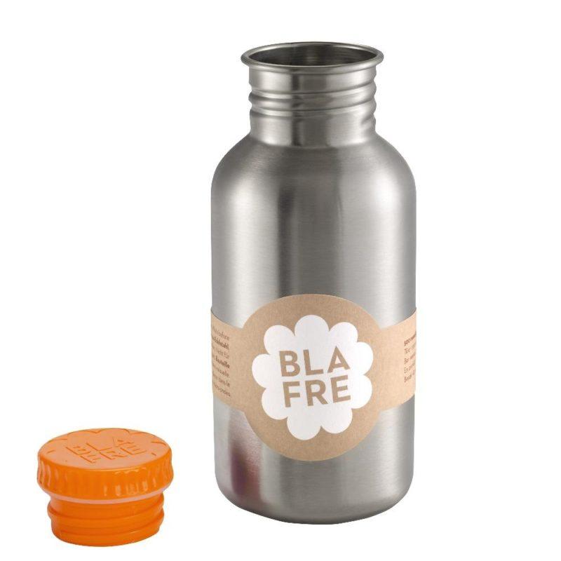 Blafre RVS drinkfles 500ml – orange